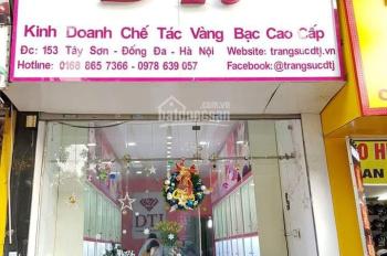 Cho thuê nhà mặt phố Nguyễn Trãi 40m2 x 3T mặt tiền 4m, thông sàn kinh doanh tốt lh 092.810.8810