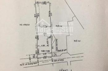 Bán nhà HXH Lê Quang Định 5,5x23m, CN 121.2m2, TXD hầm 5 lầu. Giá đầu tư chỉ 76 triệu/m2