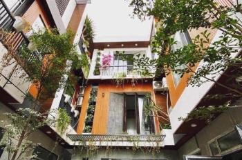 Bán dãy nhà liền kề 3 tầng mới xây full nội thất kiệt ô tô 4m Trần Cao Vân