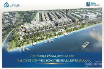 Nhà phố liền kề The Pearl Riverside 1 trệt 2 lầu + sân thượng ngay Waterpoint, 2.7 tỷ đã VAT