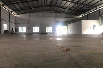 Cho thuê kho xưởng An Phú Đông, quận 12, DT: 1200m2