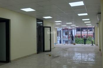 Cho thuê tòa VP mặt phố Vương Thừa Vũ, 5 sàn 150m2/sàn mặt tiền 7m, hầm để xe, 110 triệu/tháng