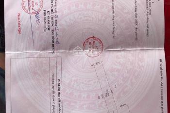 Cần tiền bán gấp lô đất mặt tiền QL13, ngay cổng Mỹ Phước 1, Bến Cát, LH chính chủ 0969382116