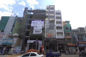 Cho thuê tòa nhà mặt tiền Bạch Đằng, Bình Thạnh 5,6x18,5m, 8 lầu giá 130 triệu/tháng