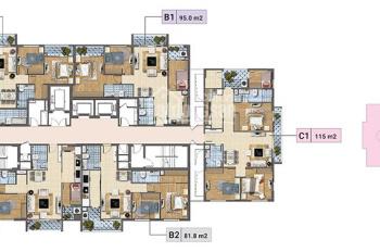 Chủ căn tầng 901, DT 95m2, chung cư Xuân Phương Tasco cần tiền bán gấp với giá 20tr/m2