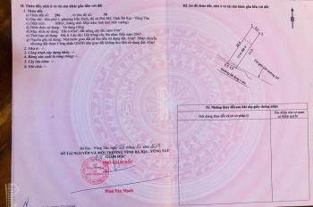 Đất nền MT Mỹ Xuân Ngã Giao - giá chỉ từ 710tr-970tr/nền - đã có sổ công chứng ngay