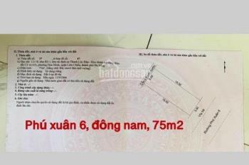 Phú Xuân 6 Đông Nam gần biển thuộc phường Hòa Minh giá 1.68 tỷ. LH: 0902.200.789