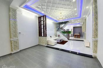 Nhà Đẹp Mới Xây ( 5x16 )  2 Lầu Sân Thượng, Đường 8M, Huỳnh Tấn Phát, Gần cầu Phú Xuân
