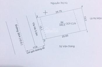 Mặt tiền 30.4 ngay trung tâm Văn hóa tỉnh, vị trí thương mại vip nhất. 0933292292