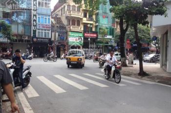 Cho thuê nhà mặt phố Đoàn Trần Nghiệp, Hai Bà Trưng, mặt tiền 11m căn góc sát Vincom Bà Triệu