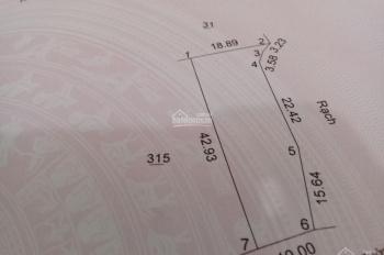 Bán lô đất đường nhựa 7m, có sổ hồng riêng, giá chỉ 950 triệu 579m2 điện nước đầy đủ