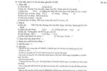Bán nhà MT đường Trần Văn Ơn, Dt: 191.3m2, lửng, Sổ hồng riêng. Gía: 14.3 tỷ.