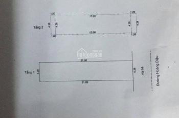 Bán nhà 2 tầng MT Hoàng Diệu, đoạn 2 Chiều Cách Nguyễn Văn Linh 200m, Dt: 90m2 giá rẻ