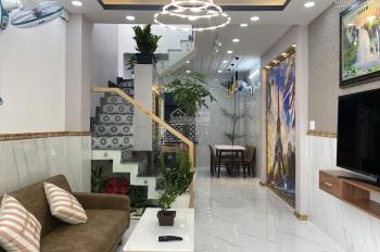 Nhà bán full nội thất 1 sẹc, hẻm thông 5m Lê Văn Thọ, phường 16