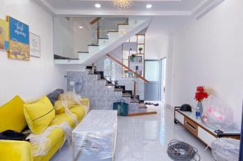 Bán nhà sổ riêng HT vay bank. DT 4x10m, 1 lầu 2 PN, đường Huỳnh Tấn Phát, nhà như hình 100%