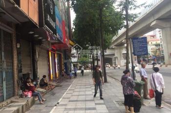 Cho thuê nhà 5 tầng mặt phố Quang Trung, Hà Đông, tổng diện tích 492.5m2, 32tr/tháng