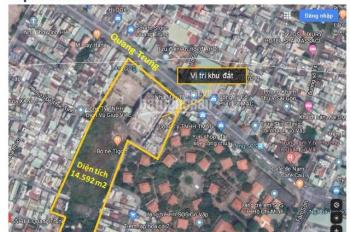 Chuyển nhượng khu đất 749 Quang Trung, Gò Vấp, DT: 14.592m2, giá: 740 tỷ TL, LH: 0784666639