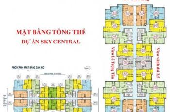 Bán căn hộ SKYCENTRAL 176 ĐỊNH CÔNG 71M2 GIÁ 1,9 TỶ BAN CÔNG HƯỚNG ĐÔNG
