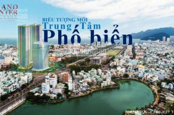 5 shophouse vị trí đẹp nhất Grand Center Quy Nhơn. 2 tỷ 5 ban đầu & trả góp trong 5 năm. 0908832834