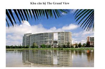 Cần bán gấp CHCC Grand View vòng cung khu PMH quận 7, Tp. HCM