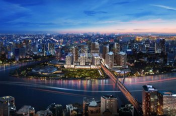 Nhận Booking The Metropole Thủ Thiêm, ngay chân cầu Thủ Thiêm 2, vị trí độc tôn, 100% view sông