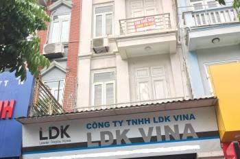 Cho thuê cả nhà ngõ phân lô 100 Hoàng Quốc Việt. Diện tích 60m2, 5 tầng, MT 5m, có thang máy