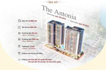 Căn hộ PMH The Antonia - căn hộ 2 phòng thanh toán 1 tỷ nhận nhà hoàn thiện- 0931344384 PKD PMH