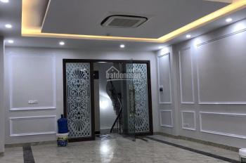 Bán nhà mặt phố Trần Quốc Hoàn, Phan Văn Trường, 80m2x9T, thang máy, xây mới, vị trí đắc địa, 33 tỷ
