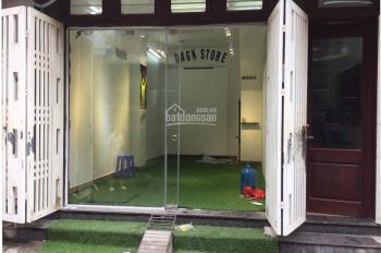 Chính chủ cho thuê mặt bằng tầng 1 kinh doanh - văn phòng tại ngõ 98 phố Hạ Yên, 25m2, giá 6 tr/th