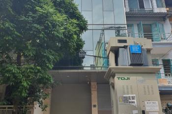 Cho thuê nhà mặt phố Hoàng ngân, làm văn phòng, spa, DT 80m2*4,5T, MT 6m, giá 43tr/th