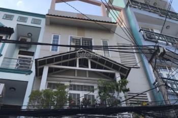 Hàng hiếm, bán nhà khu Đoàn Thị Điểm, P1, Phú Nhuận, DT 4.8m x 17m, 4 tầng vuông vức 15 tỷ