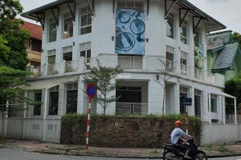 Cho thuê nhà nguyên căn phố đỗ quang , DT 300m2*3 tầng , căn góc , thông sàn