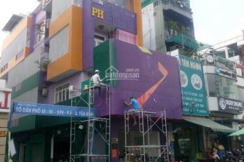 Cho thuê nhà mặt tiền đường Sư Vạn Hạnh DT: 9x18m trệt 3 lầu ngay Vạn Hạnh Mall giá 80 triệu/tháng