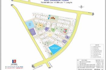 Cần bán lô đất 88m2 KDC Long Kim 2 - khu tam giác vàng nằm ngay trung tâm Bến Lức, liền kề các KCN