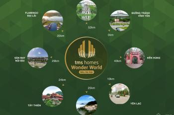 TMS Homes nhận đặt chỗ ưu tiên dự án TMS Đầm Cói Vĩnh Yên. LH: 0816848666