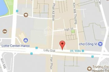 Bán đất mặt phố Liễu Giai, Ba Đình, diện tích 1286m2, giá nhỉnh 300 tỷ