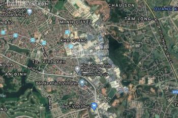 Bán đất doanh nghiệp tại khu công nghiệp Khai Quang - Bá Thiện