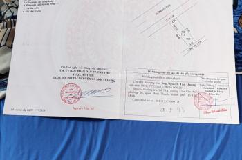 Bán nền đẹp đường B12 KDC Hưng Phú P. Hưng Phú, Q. Cái Răng, TPCT