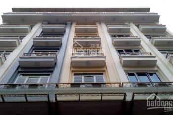 Cho thuê nhà Mễ Trì Thượng, diện tích 65m2 x 7T, MT 5m, thông sàn, có thang máy giá 35 triệu/tháng