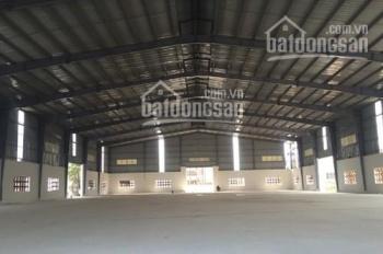 Cho thuê gấp 3000m2 kho xưởng + 1000m2 văn phòng tại Hà Đông