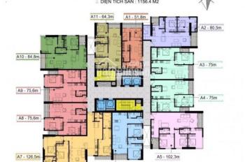Chính chủ bán chung cư Center Point 110 Cầu Giấy, căn 02 tầng, DT 82.5m2 giá 36.5tr/m2 0904516638