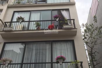 Cho thuê nhà ngõ 100 Hoàng Quốc Việt 4 tầng, 80m2, giá 25 triệu/th