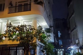 Bán nhà 2 hẻm xe hơi Nguyễn Thiện Thuật, Q3, P1, 4,5x15m 4 lầu 8 phòng giá: 15,5 tỷ TL