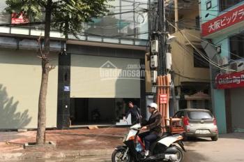 Cho thuê nhà mặt phố Phan Kế Bính kinh doanh spa, làm đẹp, cafe, văn phòng, giá thuê 40 triệu