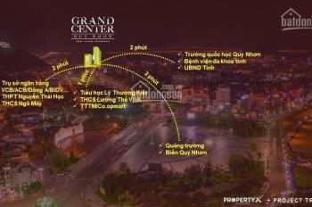 Mở bán shop nội bộ CK ngay 6% khi mua trong tháng Grand Center Quy Nhơn Nguyễn Tất Thành 0909018655