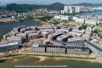 Bán nhà liền kề mặt đường ven biển Hạ Long, dự án Harbor Bay, lô HB-347, DT: 150m2 x 5 tầng giá rẻ