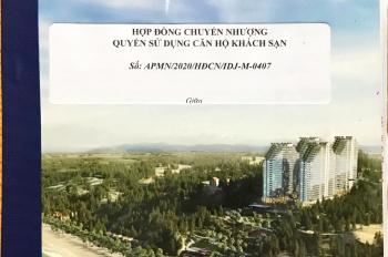 Apec Mũi Né - CC kẹt vốn cần để lại căn 32m2 - giá 800 triệu, đã TT 36%, M - 0407. LH: 0911614068