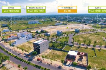 Chủ cần tiền bán gấp lô đất ngay trường đại học Phân Châu Trinh - Đường 10m5, Sổ đỏ bàn giao