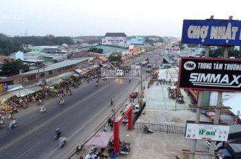 Đất nền 1ỷ760 triệu gần chợ Nhật Huy, mặt tiền đường ĐT 741, TPM Bình Dương. SĐT 0327 629 234