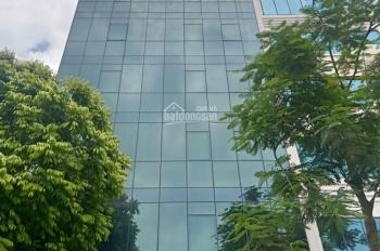 Cho thuê nhà nguyên căn quận Cầu Giấy. Diện tích 80m2 * 6 tầng, mặt tiền 9m, thông sàn